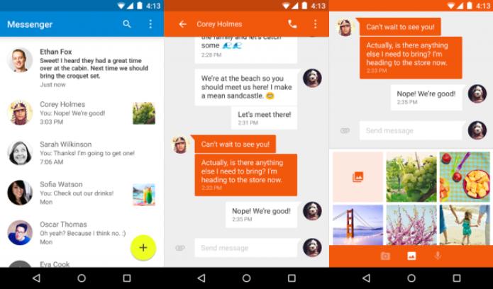 Google Messenger ganha suporte de GIFs (Foto: Reprodução/Phandroid)