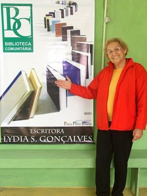 Aos 77 anos, idosa vai começar faculdade de Direito (Foto: Divulgação / Prefeitura de Itanhaém)