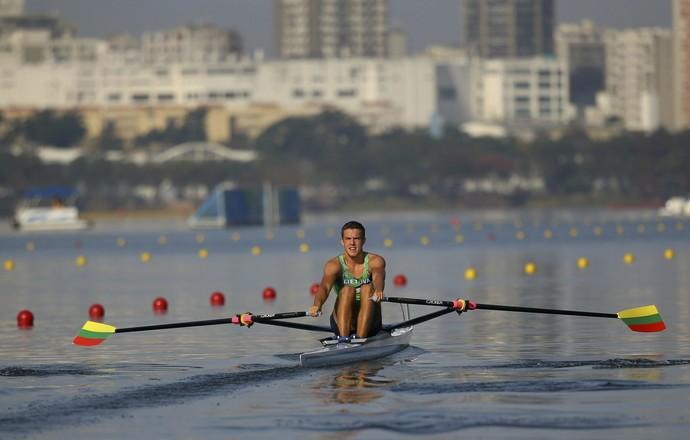 Armandas Kelmelis Lituânia remo Rio 2016 (Foto: REUTERS/Murad Sezer)