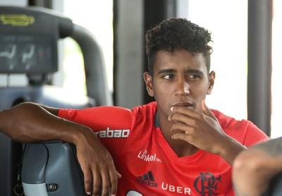 Gabriel Flamengo (Foto: Gilvan de Souza / Divulgação Flamengo)