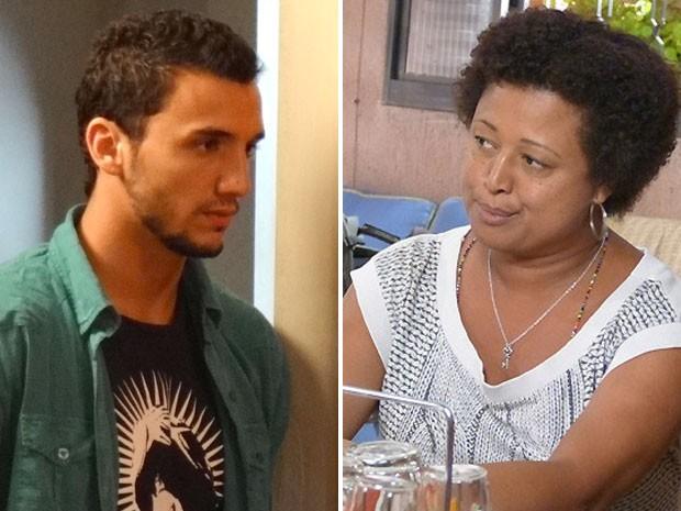 Rosa não deixa barato e proibe Sal de dormir em sua casa, na Penha (Foto: Malhação / Tv Globo)