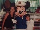 Nívea Stelmann mostra mais fotos de sua viagem de férias à Disney