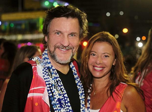 Antonio Calloni e Ilse Rodrigues (Foto: .)