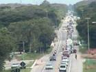 Na descida para o litoral do Paraná, BR-277 tem 1,8 mil veículos por hora