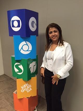 Joelma Amorim é Gestora de Marketing da TV Grande Rio (Foto: Arquivo Pessoal)