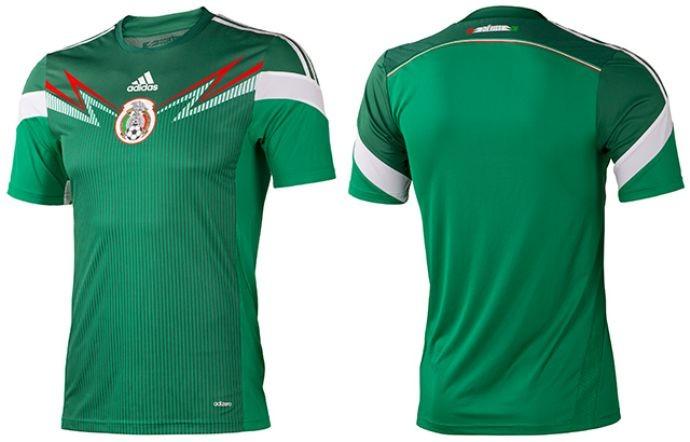 Nova camisa do México