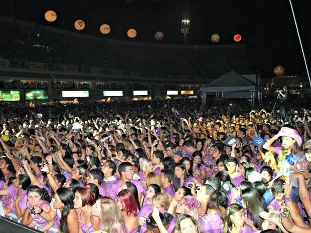 Fest Verão Manaus 2012 (Foto: Adneison Severiano G1/AM)