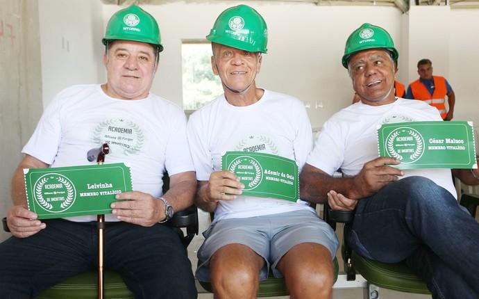 palmeiras cadeiras cativas leivinha cesar maluco ademir da guia (Foto: Marcos Bezerra/Futura Press/Agência Estado)
