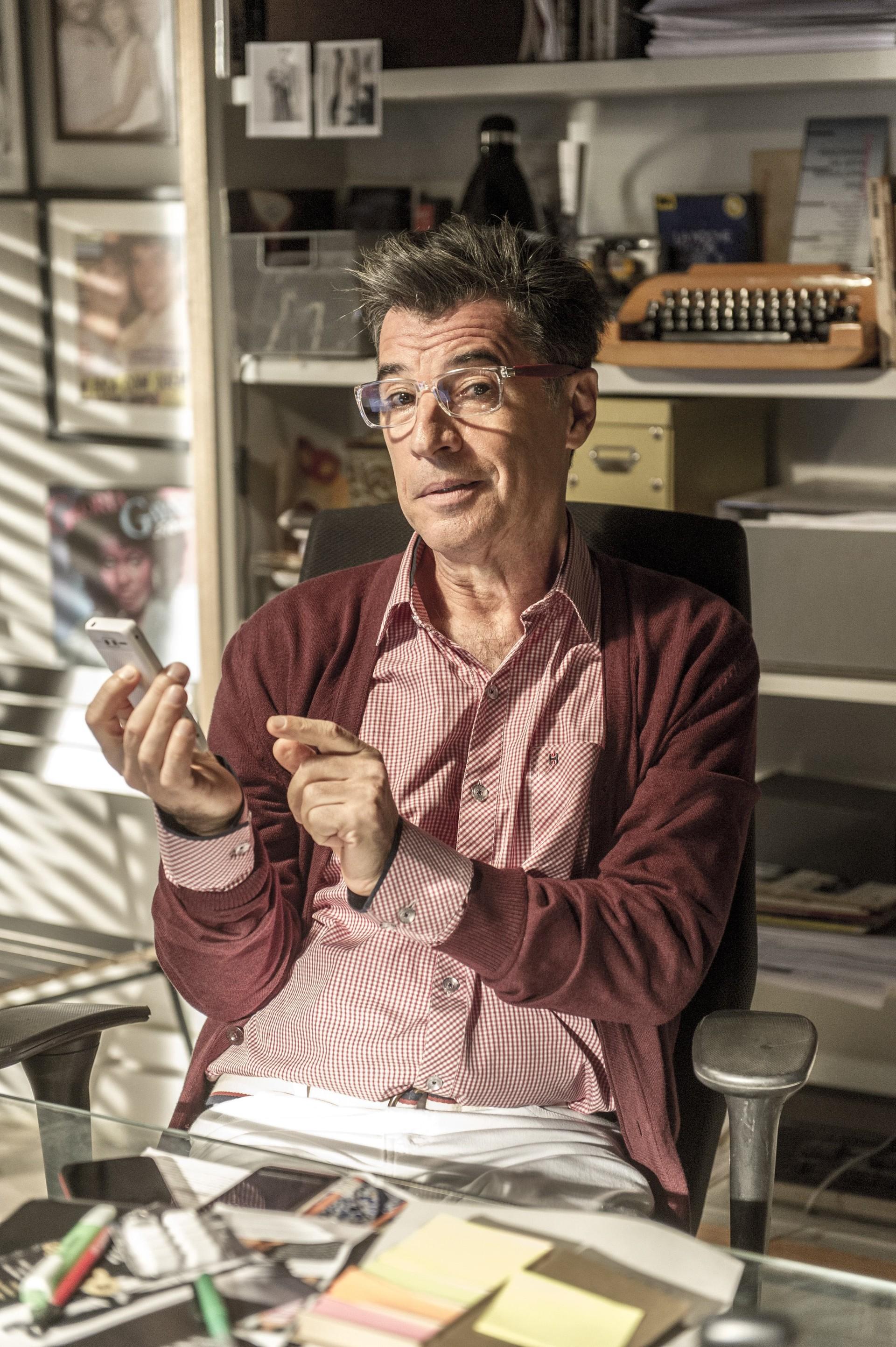 Ator é sorocabano de coração (Foto: Globo/Renato Rocha Miranda)
