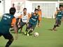 Com Leandro Domingues à parte, Mancini faz treino tático no Barradão