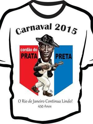 Camisa do Prata Preta, em homenageia o Rio (Foto: Reprodução/Facebook)