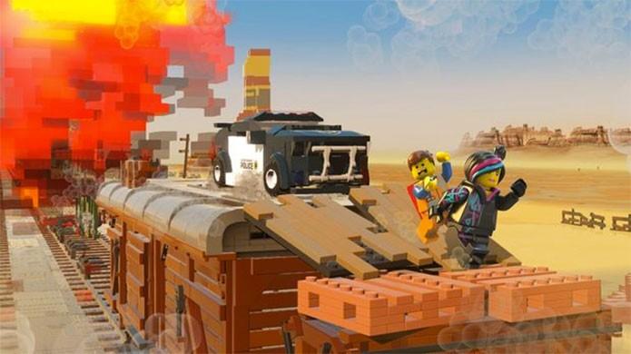 The Lego Movie apresenta uma aventura original, mas com heróis famosos (Foto: Divulgação)