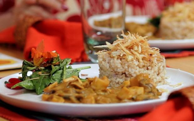 Bela Cozinha: arroz integral (Foto: Reproduo / GNT)