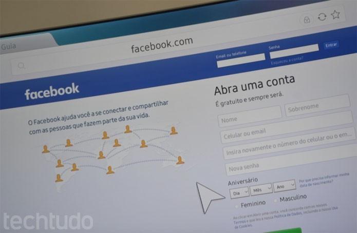 Facebook pretende invadir sua televisão (Foto: Melissa Cruz / TechTudo)