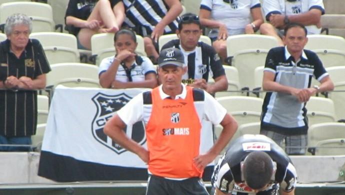 Lisca, técnico do Ceará (Foto: Juscelino Filho)