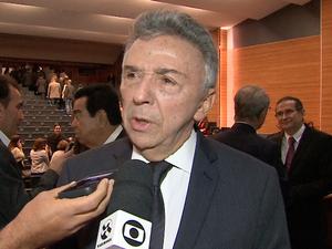 José Queiroz, prefeito de Caruaru (Foto: Reprodução/ TV Asa Branca)
