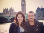 Isabelli Fontana posa com Di Ferrero em viagem romântica a Londres