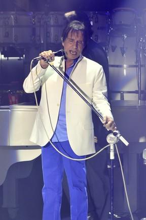 Roberto Carlos em show na Bahia (Foto: Roberto Teixeira/ EGO)