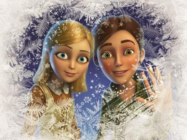 Imagem do filme 'O reino gelado' (Foto: Divulgação)
