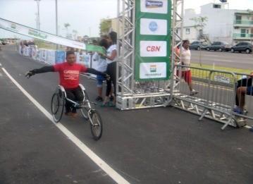 caminha e corrida esperança (Foto: Bianca Teixeira/TV Liberal)