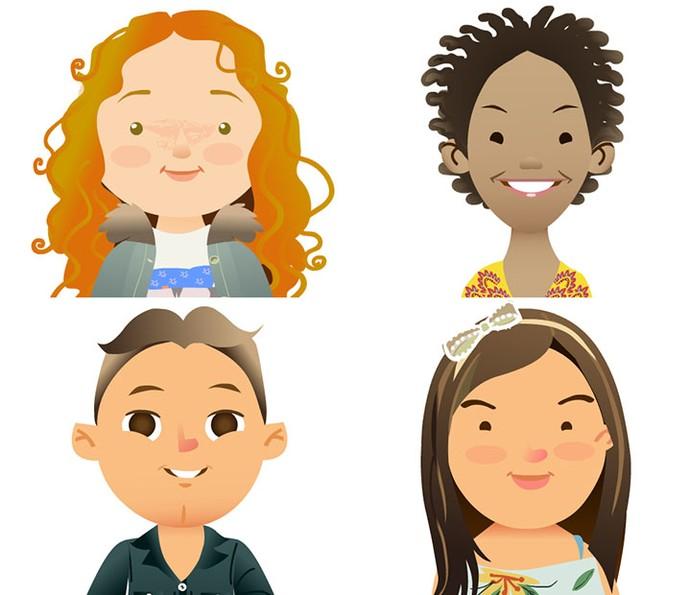 Veja as caricaturas exclusivas dos participantes do 'The Voice Kids' (Foto: TV Globo)