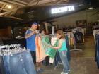 Cláudia Rodrigues compra 15 calças  e oito pares de tênis em São Paulo