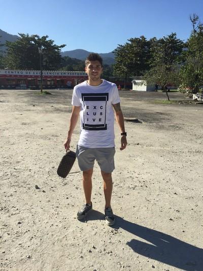 Lucas Mugni Flamengo (Foto: Richard de Souza/ Globoesporte.com)
