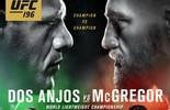 Dana atende McGregor e altera pôster do UFC 196 contra Dos Anjos (Reprodução/Twitter)