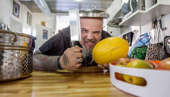 João Gordo é vegetariano há 14 anos (Foto: Arquivo Pessoal )