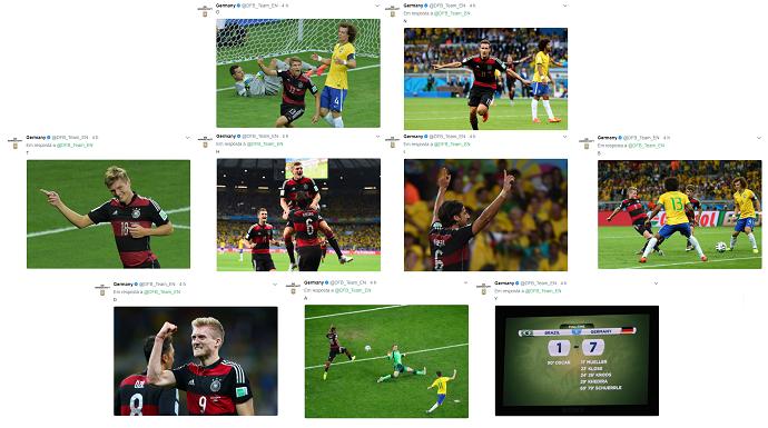 BLOG: Alemanha lembra aniversário do 7 a 1 com série de postagens em rede social