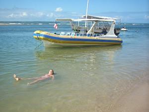 Ilha faz parte do Arquipélago de Tinharé, em Cairu (BA). (Foto: Luiz Alberto Guimaraes Darbra/VC no G1)