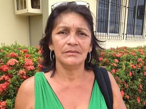 Agricultora Nilzete dos Anjos, 52 anos, acredita na melhoria de vida com a independência da região. (Foto: João Machado/G1)