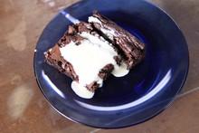 'Tempero de Família' - Rodrigo Hilbert - Brownie de chocolate com sorvete de coco