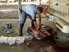 Polícia apreende tabletes de cocaína em tanque de combustível em Assis
