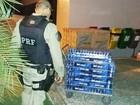 PM da Paraíba é preso com cigarros contrabandeados na BR-101, no RN