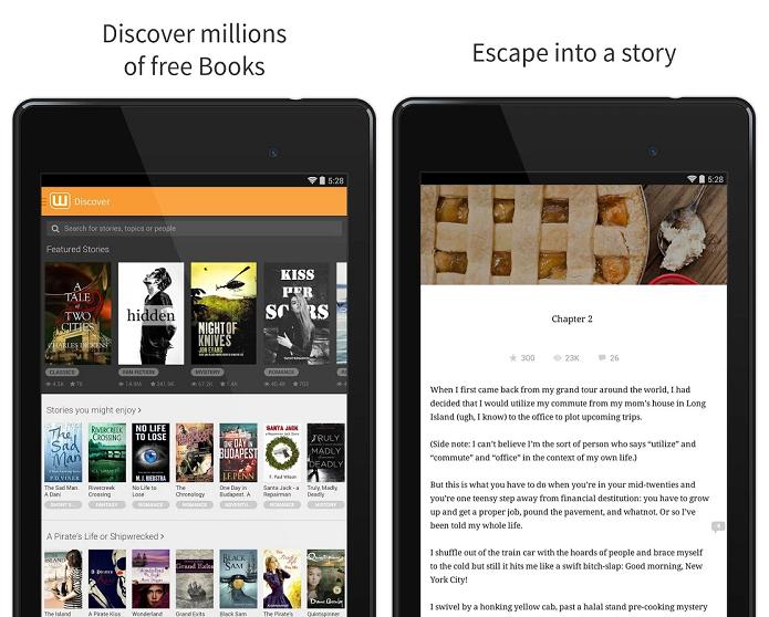 Wattpad tem catálogo com milhões de livros à disposição gratuitamente (Foto: Divulgação)