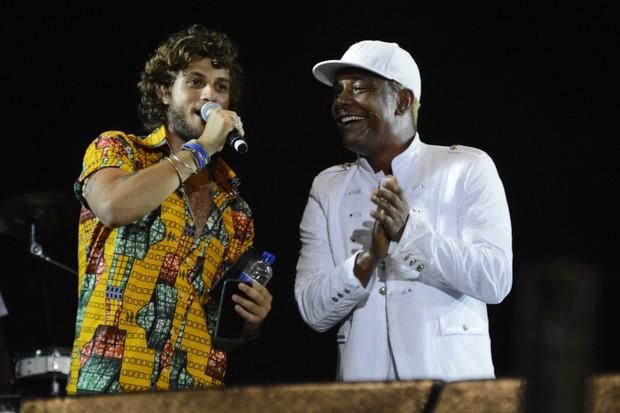 Chay Suede e Marcio Victor (Foto: André Carvalho/Ag Haack)