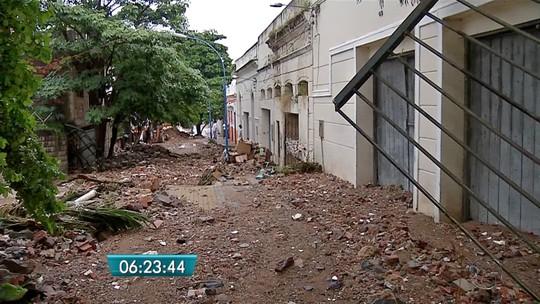 Chuva causa estragos em Corumbá e alcança 80% do esperado para o mês