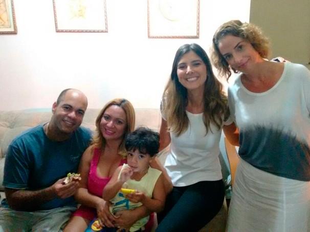 Helena Lara Resende acompanhou o desafio da família Bruno na busca por uma vida mais consciente (Foto: Globo)