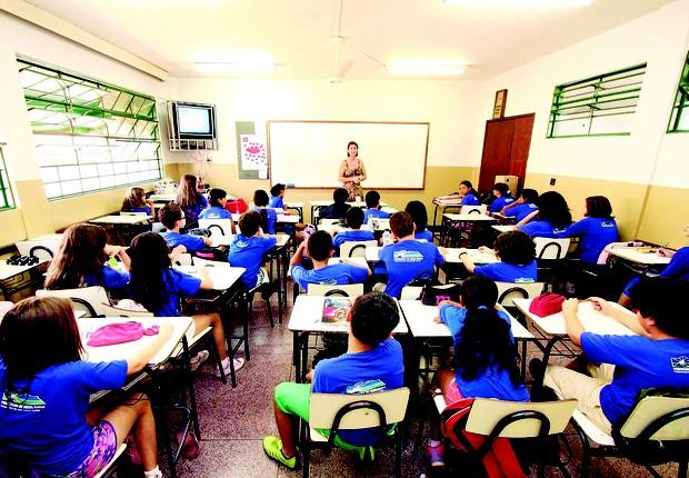 Escola; ensino fundamental ; aprendizado ; escolas ; educação ;  (Foto: Divulgação)