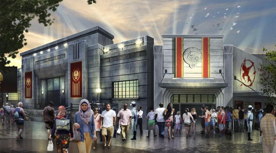 Parque inspirado no filme Jogos Vorazes fica em Dubai (Foto: Reprodução)