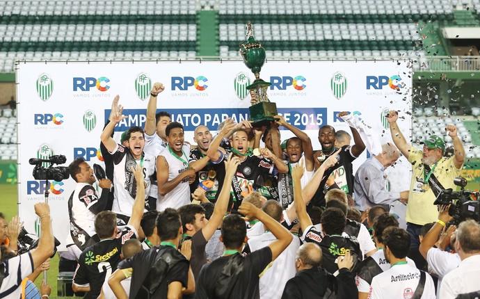 operário-pr campeão paranaense coritiba (Foto: Giuliano Gomes/PR Press)