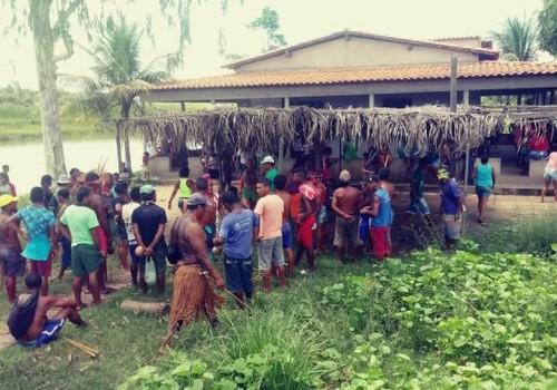 indios-ataque-maranha (Foto: Cimi/Divulgação)