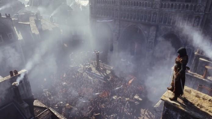 Assassin's Creed: Unity foi confirmado pela Ubisoft. (Foto: Reprodução/YouTube) (Foto: Assassin's Creed: Unity foi confirmado pela Ubisoft. (Foto: Reprodução/YouTube))