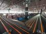 Carrinhos de brinquedo têm pista de 522 m no AutoEsporte ExpoShow
