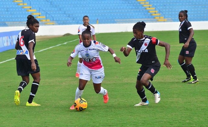 São José Vasco Brasileiro futebol feminino (Foto: Tião Martins/PMSJC)