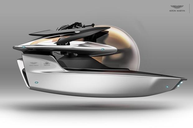 Submarino Aston Martin (Foto: Divulgação )