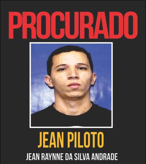 Jean Piloto, braço direito do Playboy, morto em operação policial no Rio de Janeiro (Foto: Reprodução / Procurados)