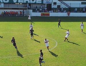 Equipe perdeu a primeira partida em casa pelo Estadual (Foto: Juliana Vieira / Globoesporte.com)