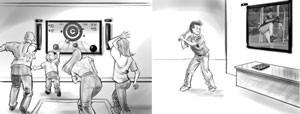 Novo Kinect teria suporte para até 4 jogadores e para o uso de acessórios (Foto: Divulgação)